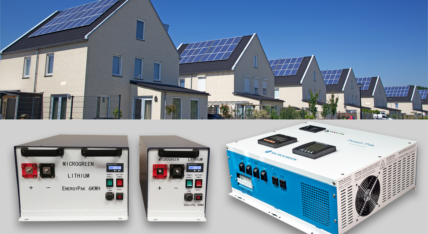 solar+storage solutions for communities and EV charging stations