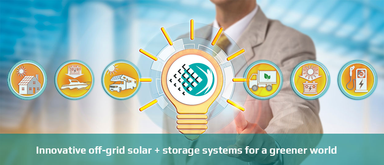 innovative off-grid solar systems with battery storage to power a greener world