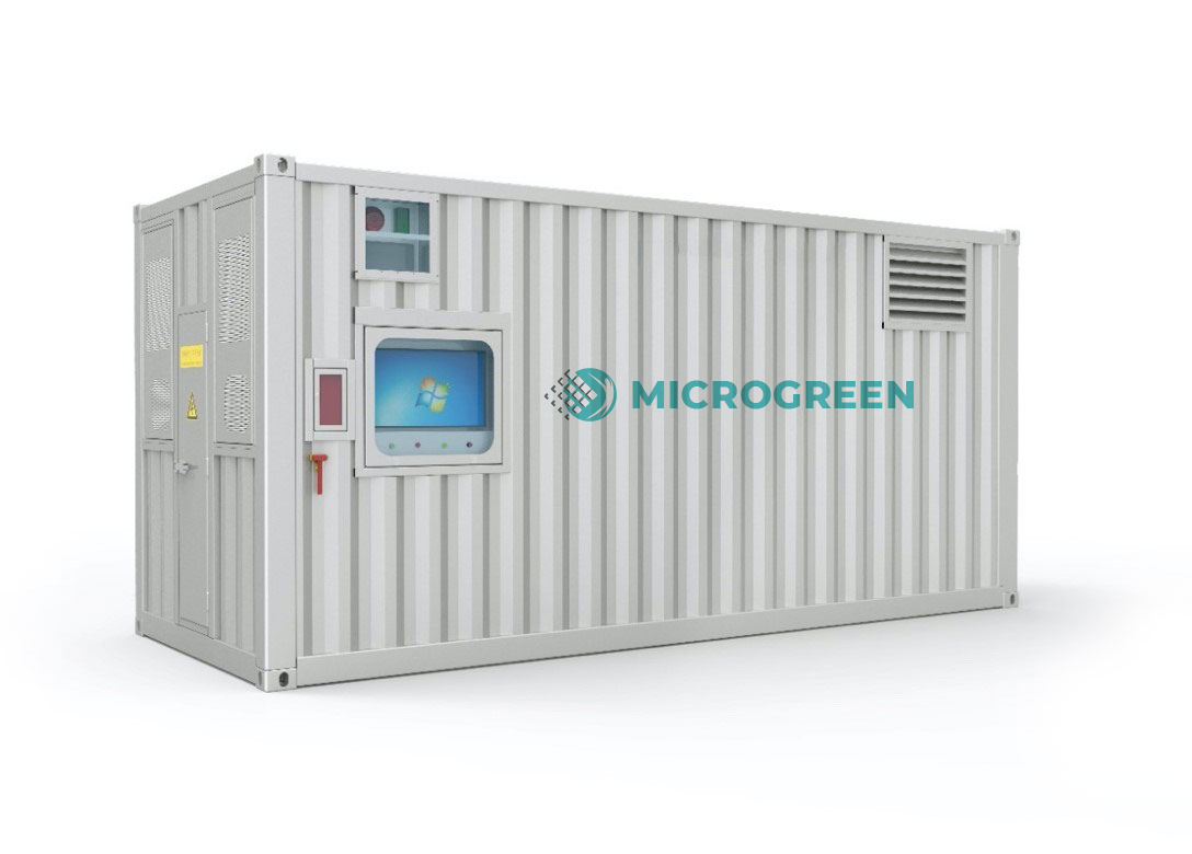 Microgreen containerized energy storage