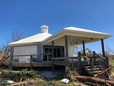 What a customer says about Microgreen off-grid system that enabled him to go off-grid after a hurricane brought down the grid.